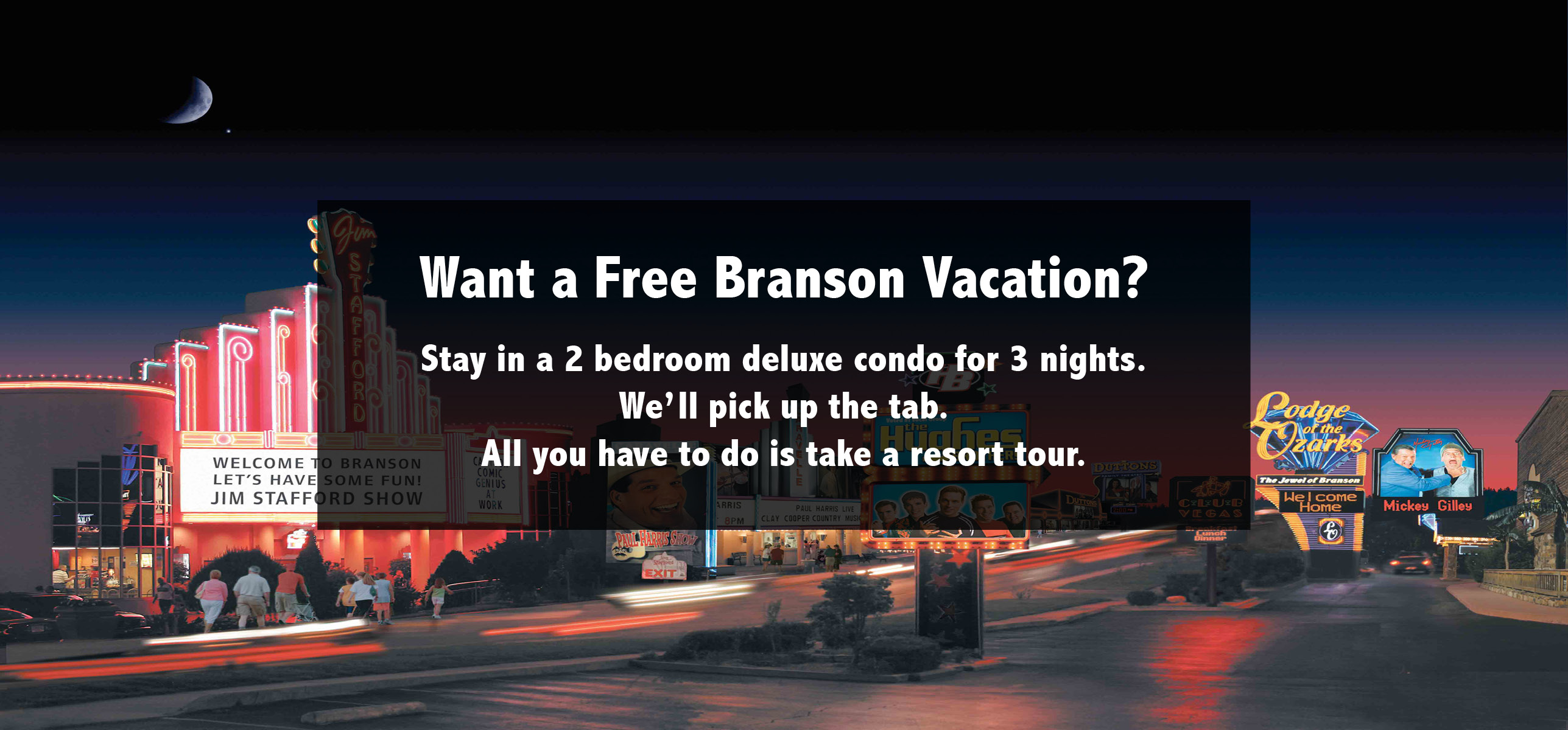 branson mo vacation packages